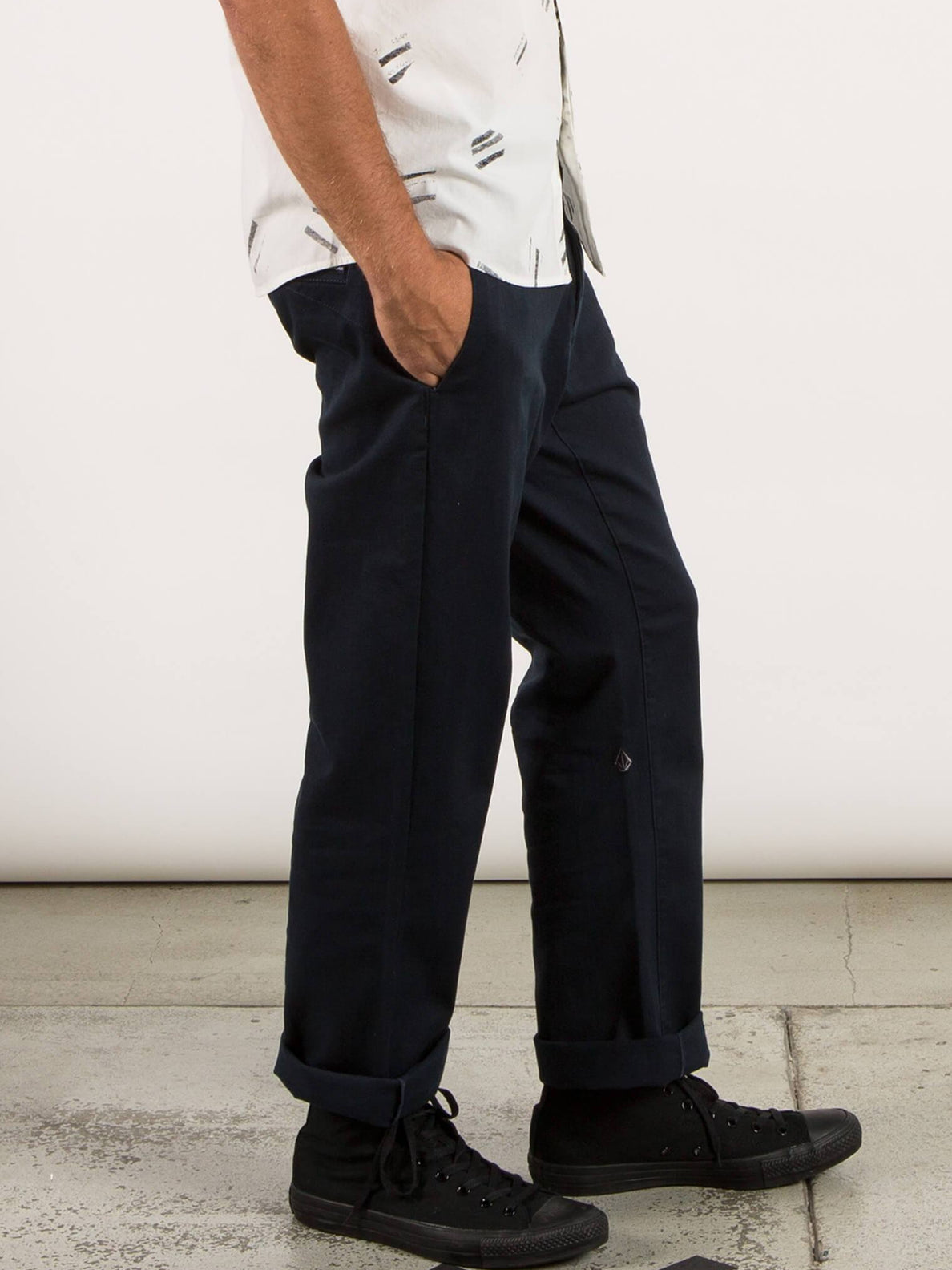Pantalones Frickin Regular - Navy