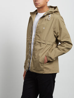 Chaqueta Howard con Capucha - Sand Brown