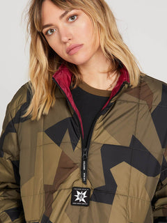 Chaqueta A.P.#2 Puff Liner - Camouflage (UNISEXO)