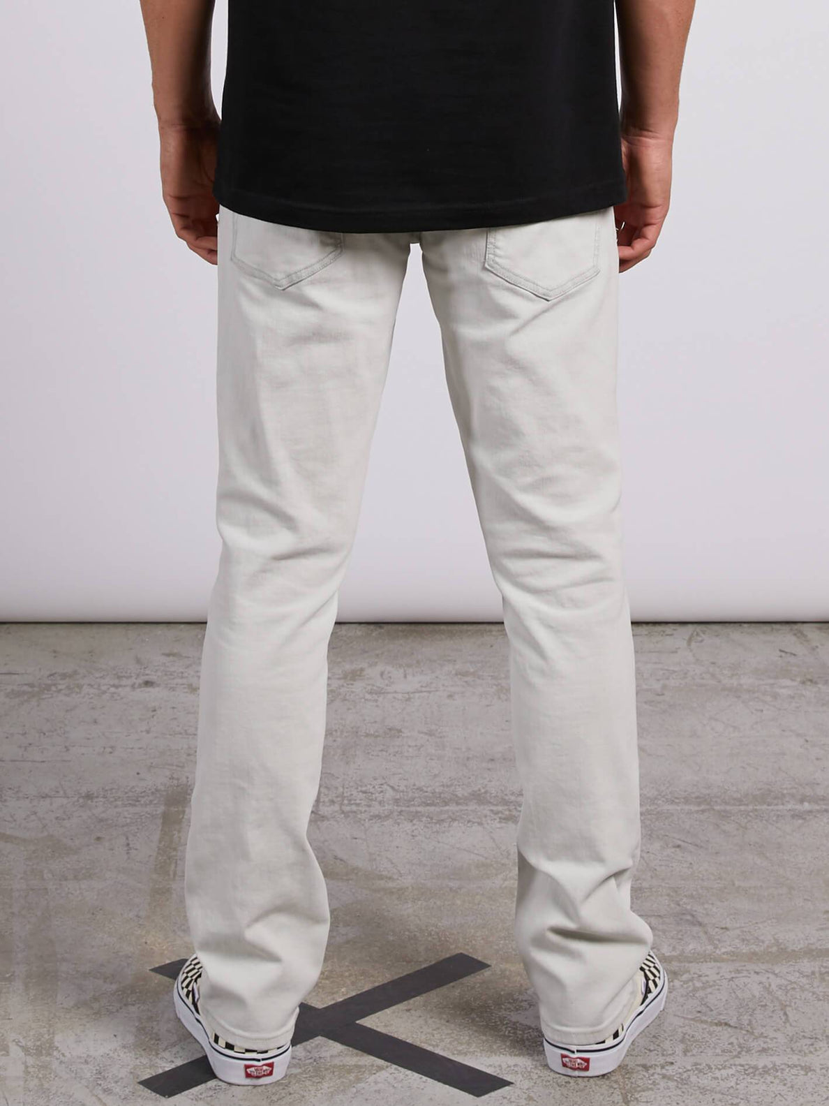 Vaqueros Vorta Denim - Dirty White