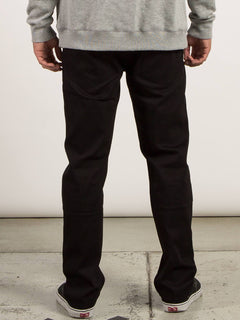 Vaqueros Solver Denim - Black On Black