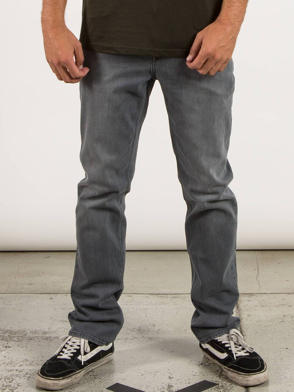 Vaqueros Solver Denim - Power Grey