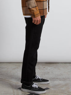 Vaqueros Solver Denim - Tough Black