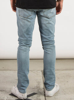 Vaqueros 2X4 Denim - Arctic Blue
