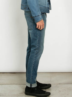 Vaqueros 2X4 Denim - Blue Stretch