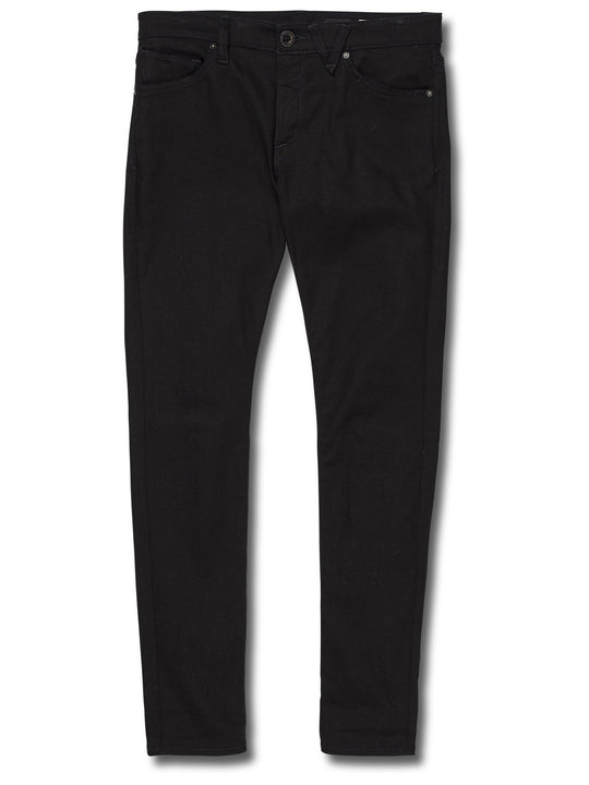 Vaqueros Vorta Tapered - Black On Black