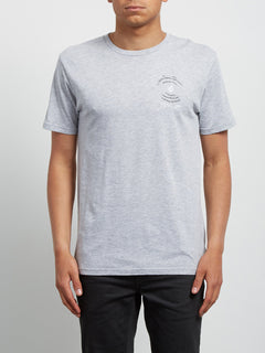 Camiseta Básica de Manga Corta Comes Around  - Heather Grey
