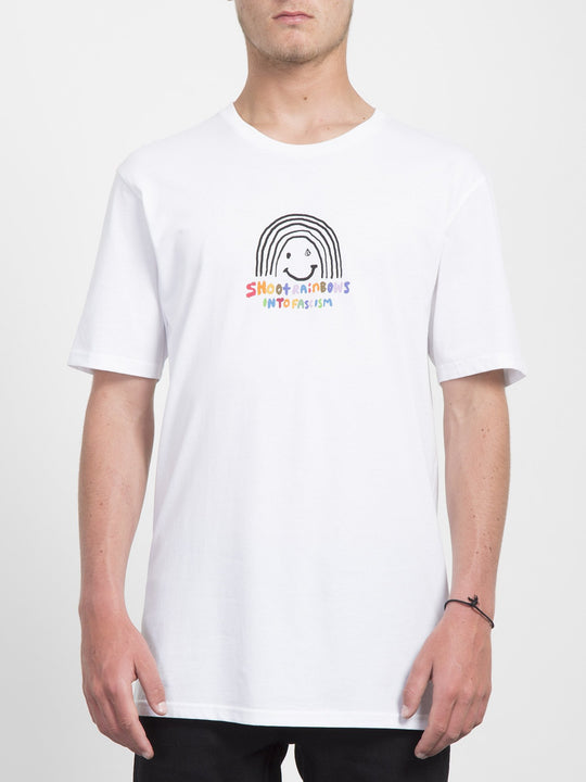 Camiseta Ozzy Rainbow - White