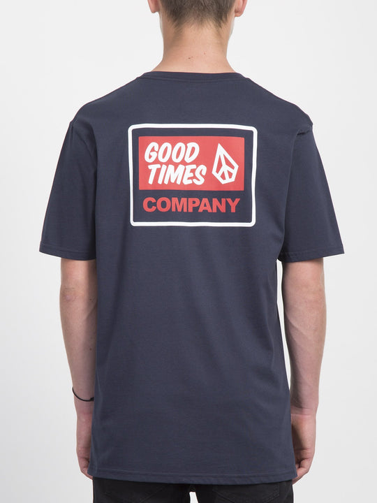 Camiseta Volcom Is Good - Navy