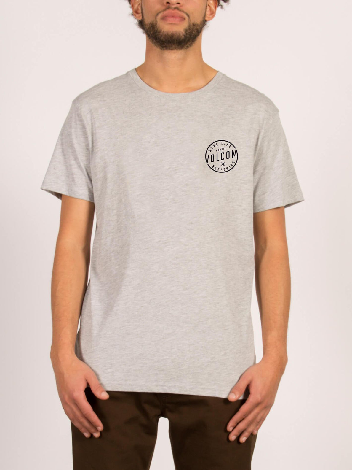 ON LOCK BSC SS HEATHER GREY