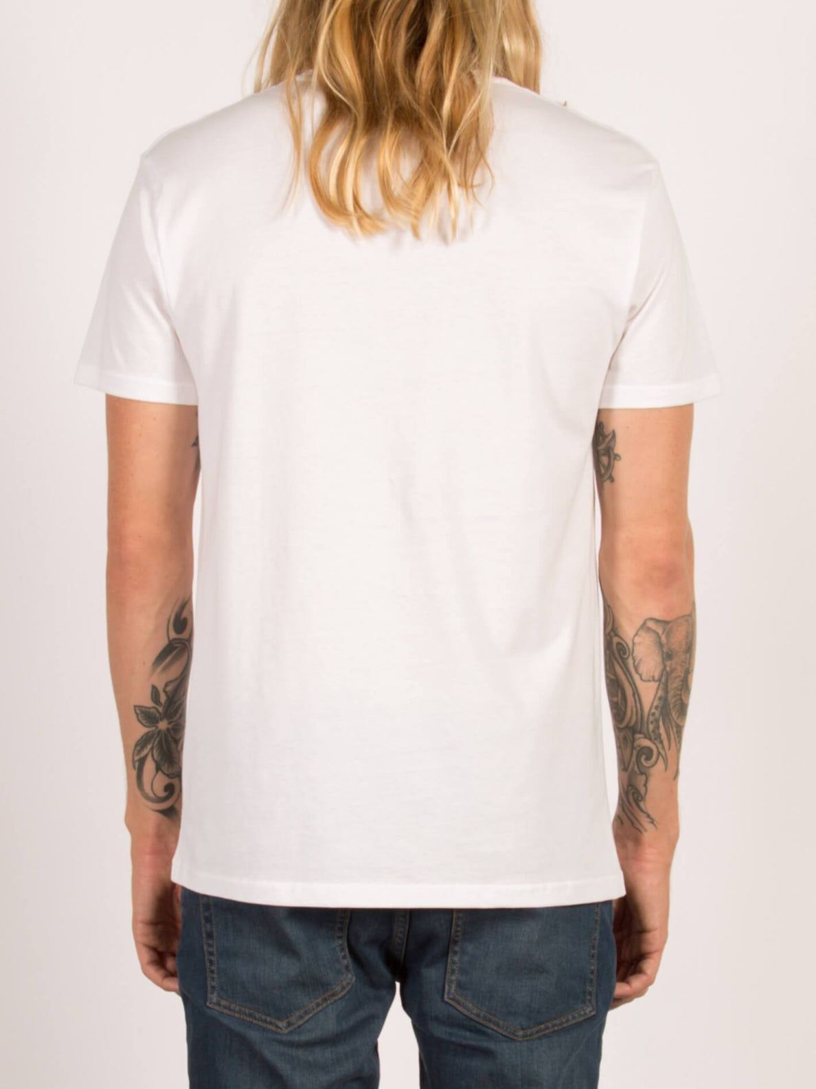 Camiseta de manga corta Head Case BSC  - White