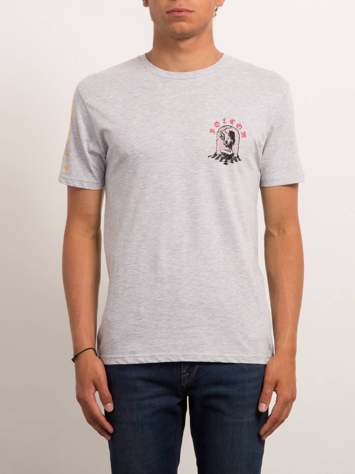 Camiseta de manga corta Stone Lust BSC  - Heather Grey