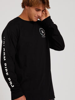 VPP Logo Long Sleeve Tee - Black