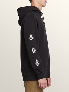 Sudadera Deadly Stones P/O - Washed Black