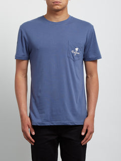 Camiseta de Manga Corta Last Resort DD - Deep Blue