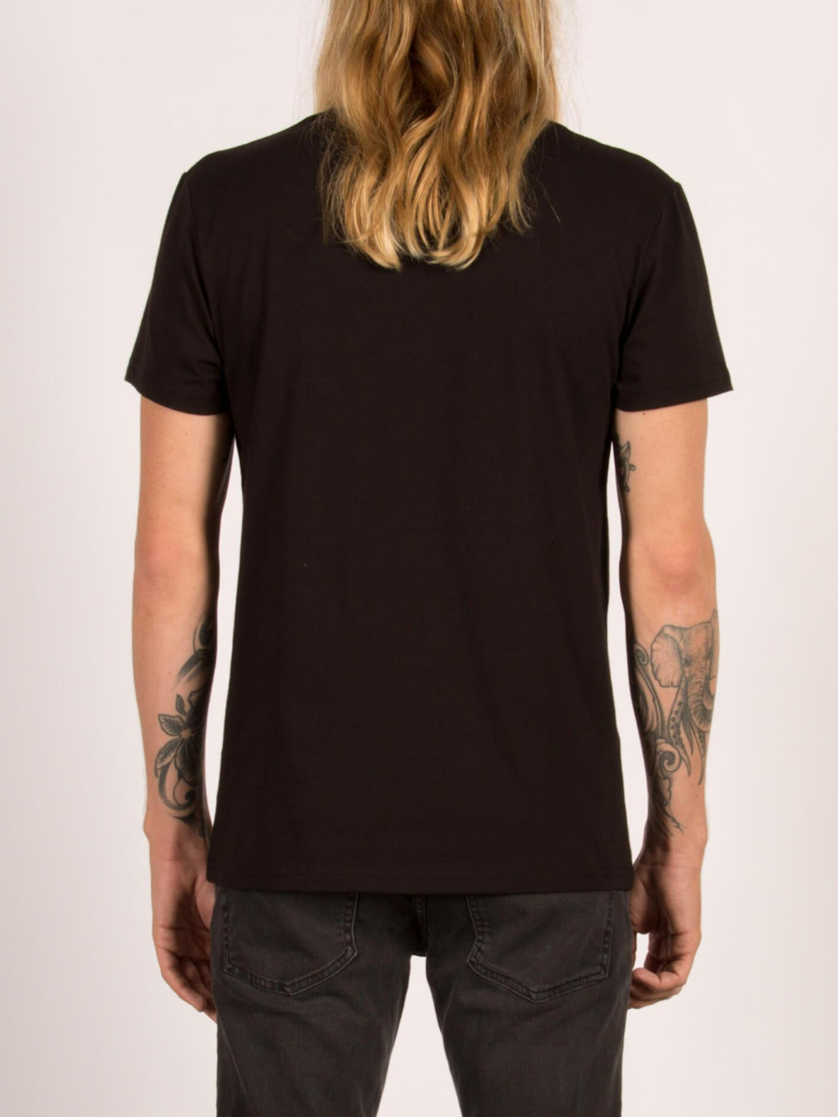 Camiseta de manga corta Contra Pocket - Black