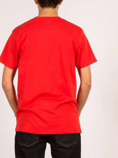 Camiseta de manga corta Rager HW - True Red