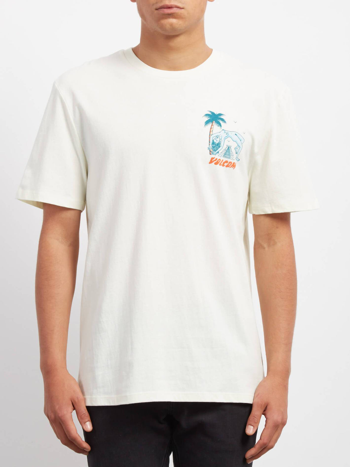 Camisa Cryptic Isle   - Dirty White