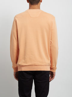 Sudadera de Cuello Redondo Case - Summer Orange