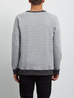 Sudadera de Cuello Redondo Homak - Heather Grey