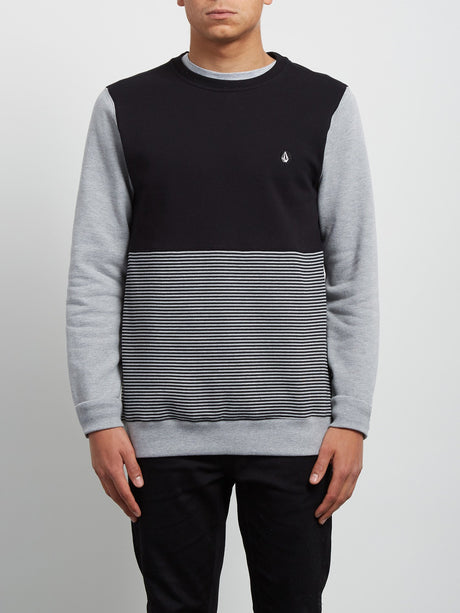 Sudadera de Cuello Redondo 3ZY - Heather Grey