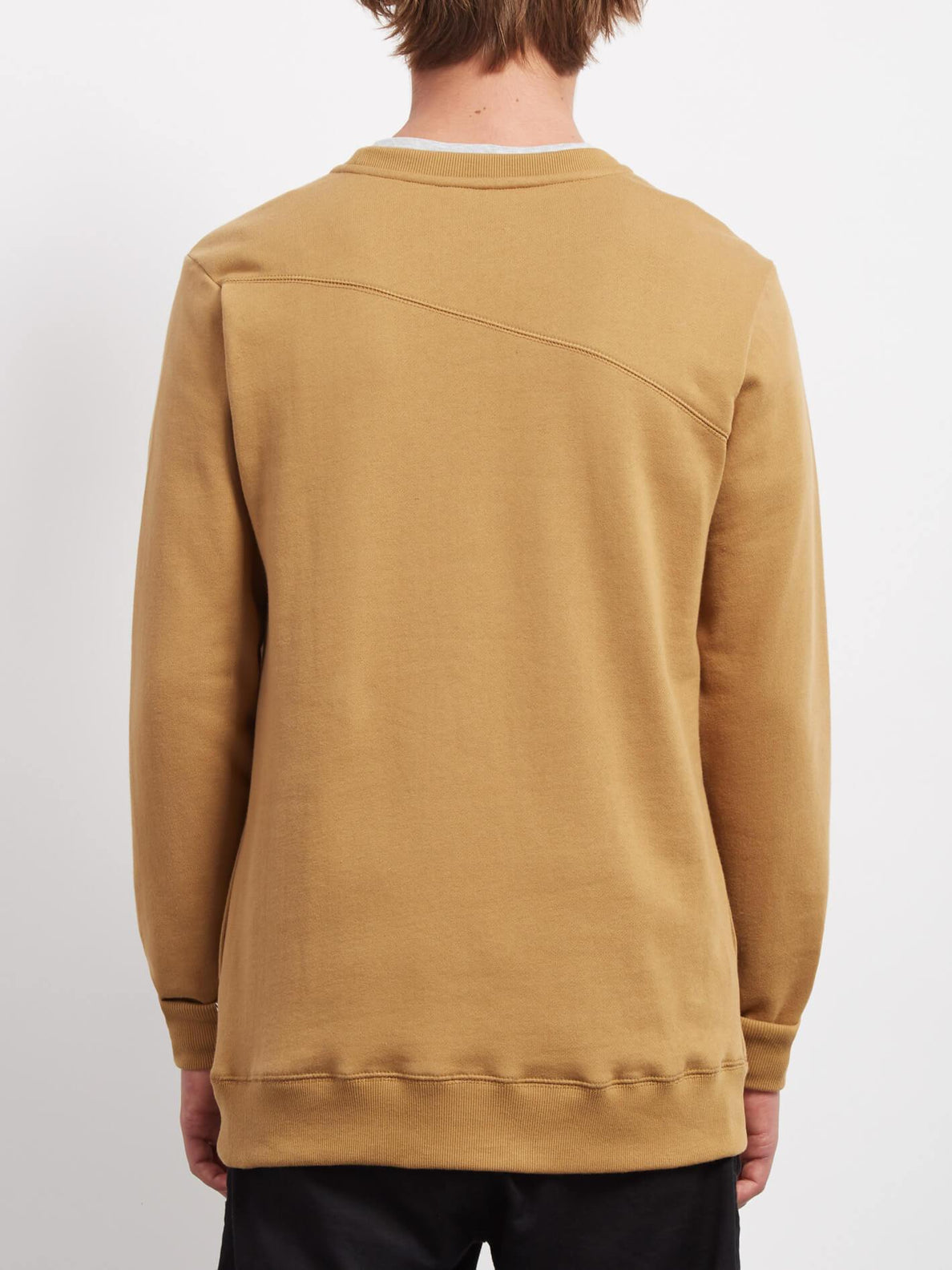 Sudadera Sngl Stone  - Old Gold