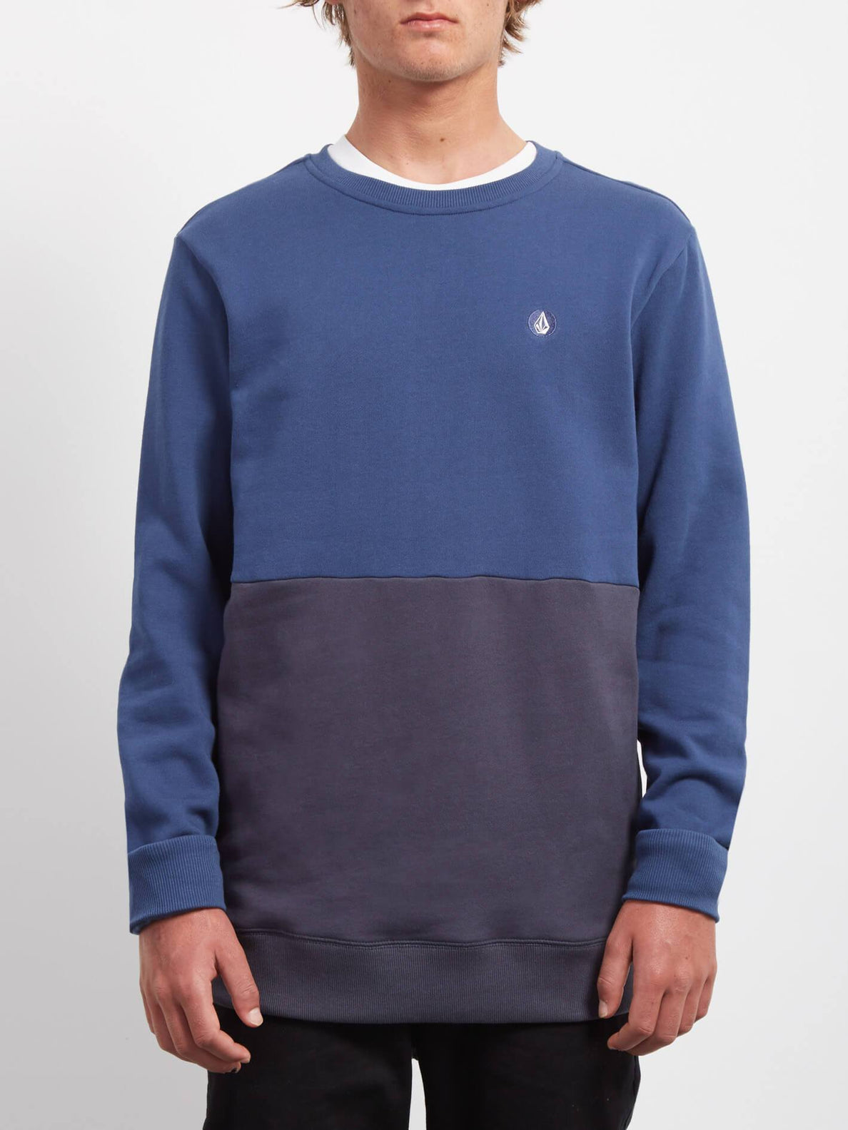 Sudadera Sngl Stn Div  - Matured Blue