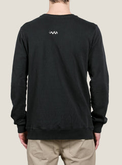 Sudadera De Cuello Redondo Reload - Washed Black