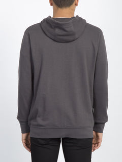 Sudadera Litewarp Zip - Heather Black