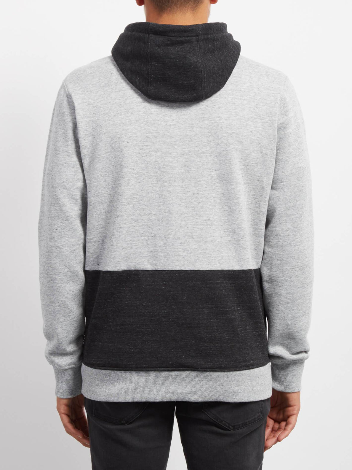 Sudadera Backronym Zip - Grey