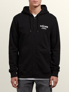 Sudadera Supply Stone Zip - Black