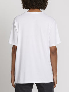 SOLID S/S TEE (A5031807_WHT) [B]