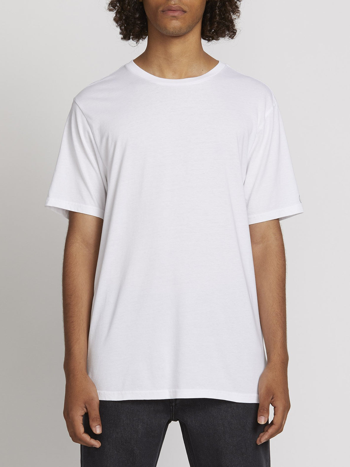 SOLID S/S TEE (A5031807_WHT) [F]