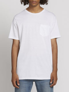 SOLID POCKET S/S TEE (A5031808_WHT) [F]