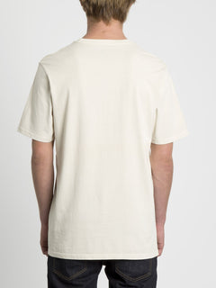 Solid Stone Emb T-shirt - White Flash (A5211906_WHF) [B]