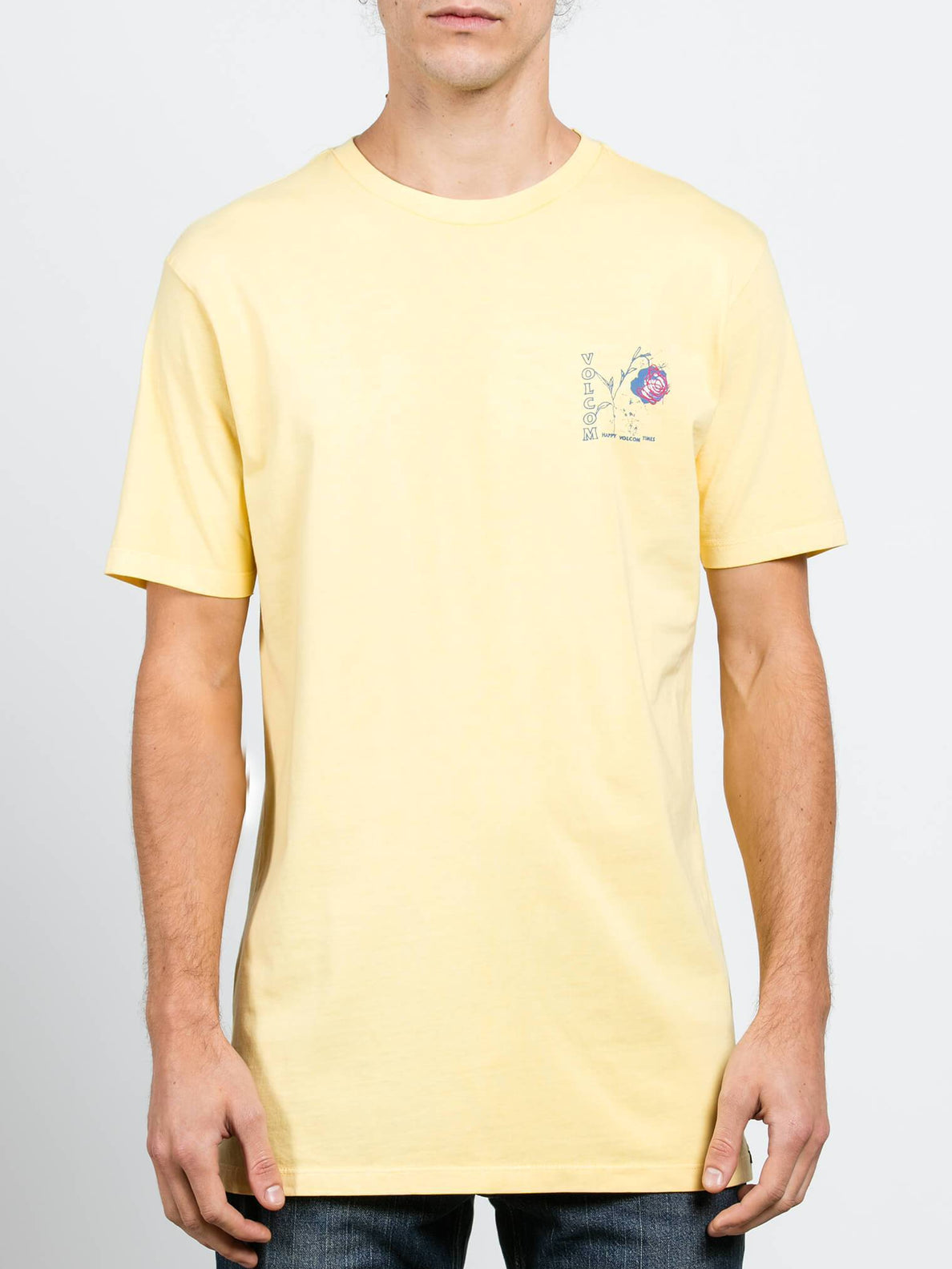 Camiseta Vco Happy Time - Light Yellow