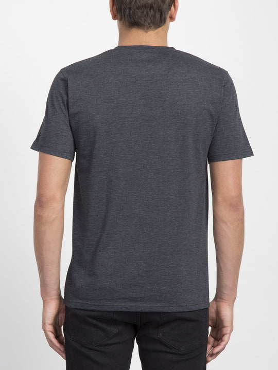 Camiseta Stamp Divide - Heather Black