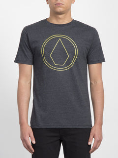 Camiseta Pin Stone - Heather Black