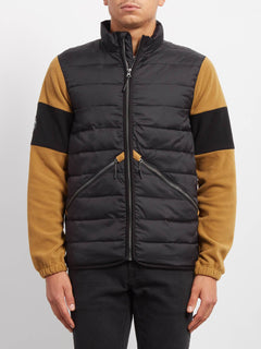 Sudadera Foley Zip - Old Gold
