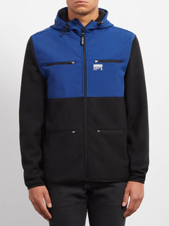 Sudadera Doked Zip - Matured Blue