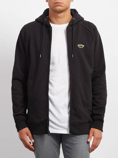 INTHOLOGY LINED ZIP BLACK