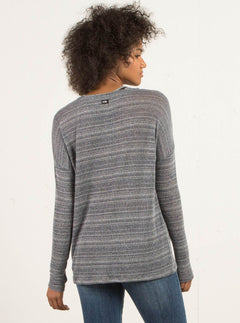 Go Go Crew Sweater - Charcoal