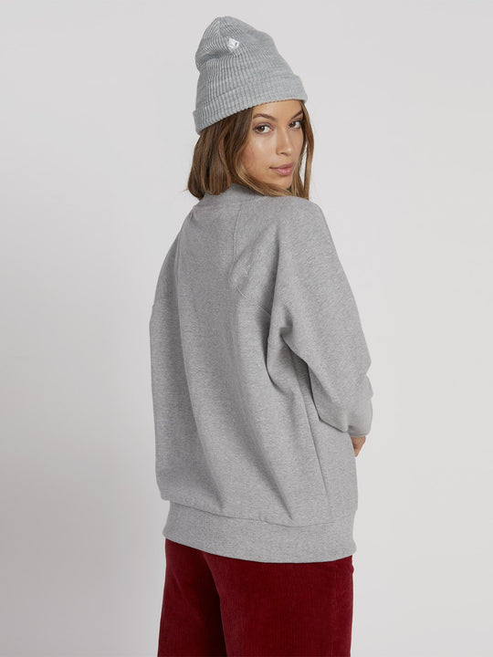Eavy Sweater - Heather Grey (B0731952_HGR) [B]