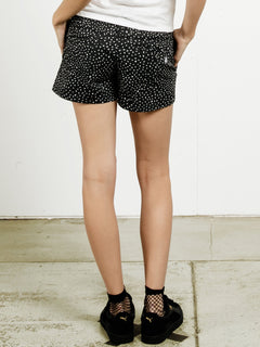 Short Frochickie - Black Print