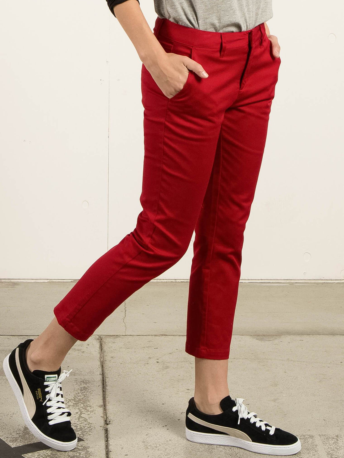 Pantalones Gmj Frochickie - Ruby Red