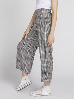 Fad Friend Pant - Black Plaid (B1131901_BLP) [1]