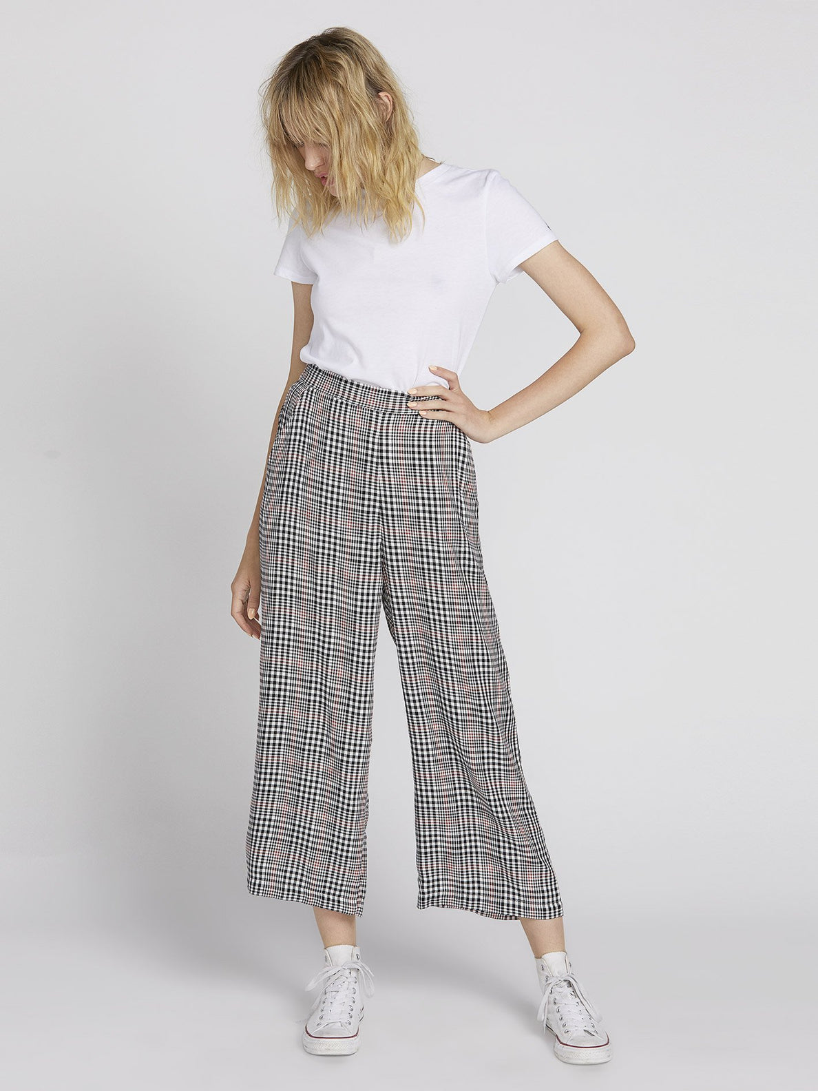 Fad Friend Pant - Black Plaid (B1131901_BLP) [4]