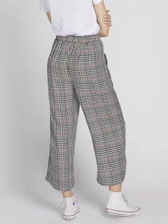 Fad Friend Pant - Black Plaid (B1131901_BLP) [B]