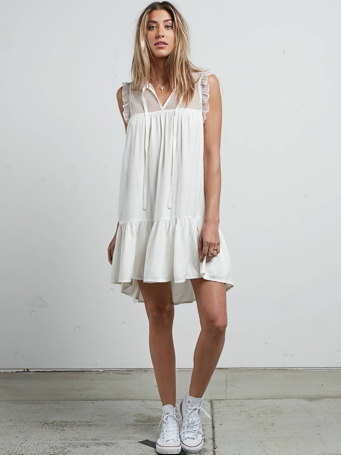 Vestido Sea Y'Around - Star White