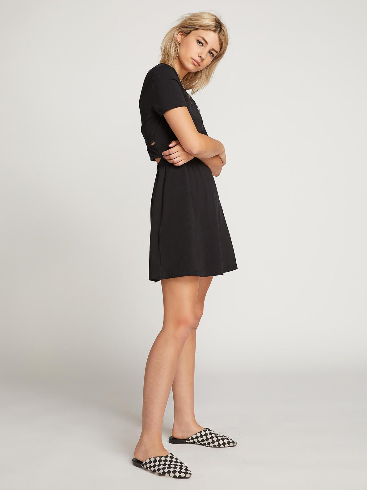 Vestido Animal Hour - Black